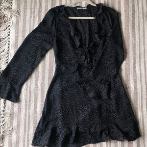 Skyler + Madison Tie Front Dress